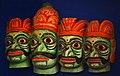 Duarapala (gatekeeper) mask, Odisha State Museum.jpg