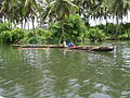 Dug-outs on the Cadacan River Samar Philippines.JPG