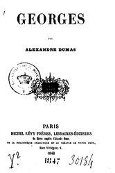 Alexandre Dumas: Georges