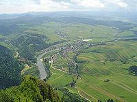 Dunajec from Trzy Korony.jpg