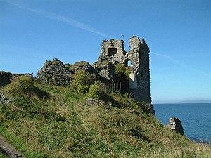 Dunure Castle - Image: Dunure castle