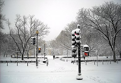 Dupont Circle - February 2010 blizzard.JPG