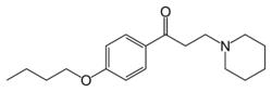 Strukturformel von Dyclonin