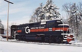 EMD GP40 model of 1221 North American 3000hp Bo′Bo′ diesel-electric locomotives