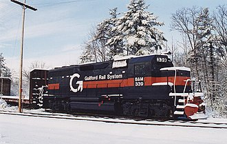 Pan Am Railways - Image: EMD GP40 B&M 339 Wells Maine