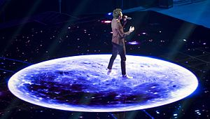 Amir Haddad - Amir performing at Eurovision 2016