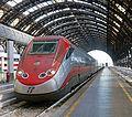 ETR 500 Frecciarossa at platform in Milano Centrale.jpg