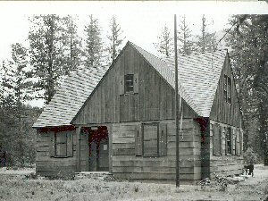 National Register of Historic Places listings in Okanogan County, Washington - Image: Early Winters Ranger Station