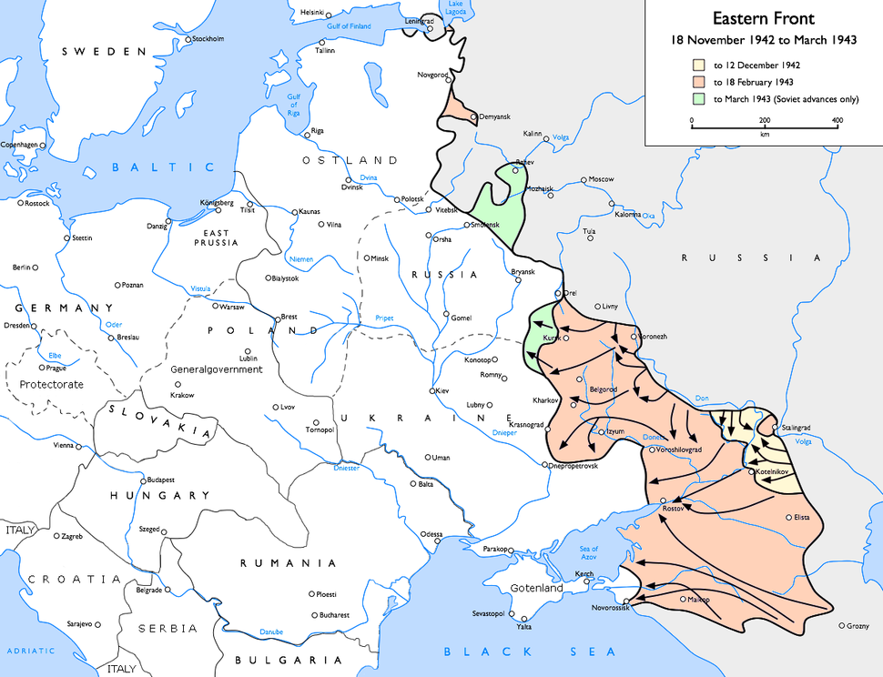 Eastern Front 1942-11 to 1943-03