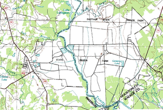 Eastham Unit - Topographic maps of the Eastham Unit and the Ferguson Unit, July 1, 1983 - U.S. Geological Survey