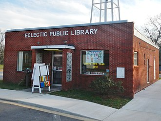 Eclectic, Alabama - Image: Eclectic Alabama Public Library