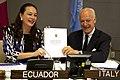 Ecuador e Italia firman acuerdo para aporte de €35 millones a Yasuní-ITT (8024735642).jpg