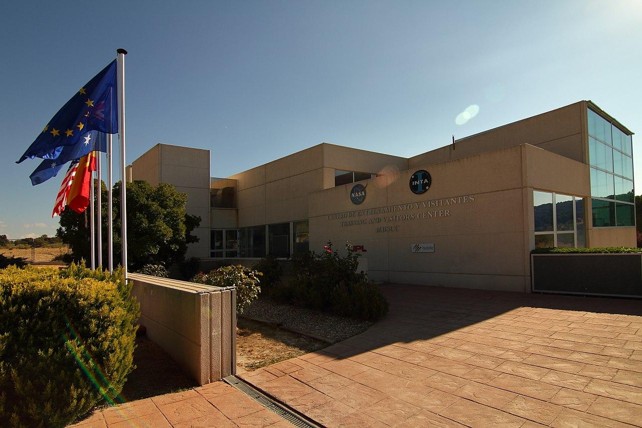 File edificio museo madrid deep space communications - Space madrid ...
