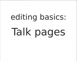 Fil:Editing basics - Talk pages.webm