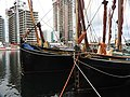 Edme and Thalatta in South Dock 6618.JPG