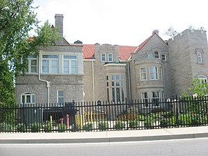 East Central Indiana - Image: Edmund B. and Bertha Ball House