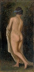 Study of a Standing Female Nude