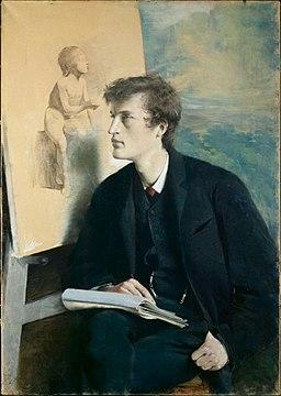 Edvard Munch, 1885, Asta Nørregaard