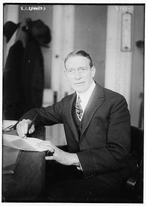 Edward I. Edwards - Edwards in 1920