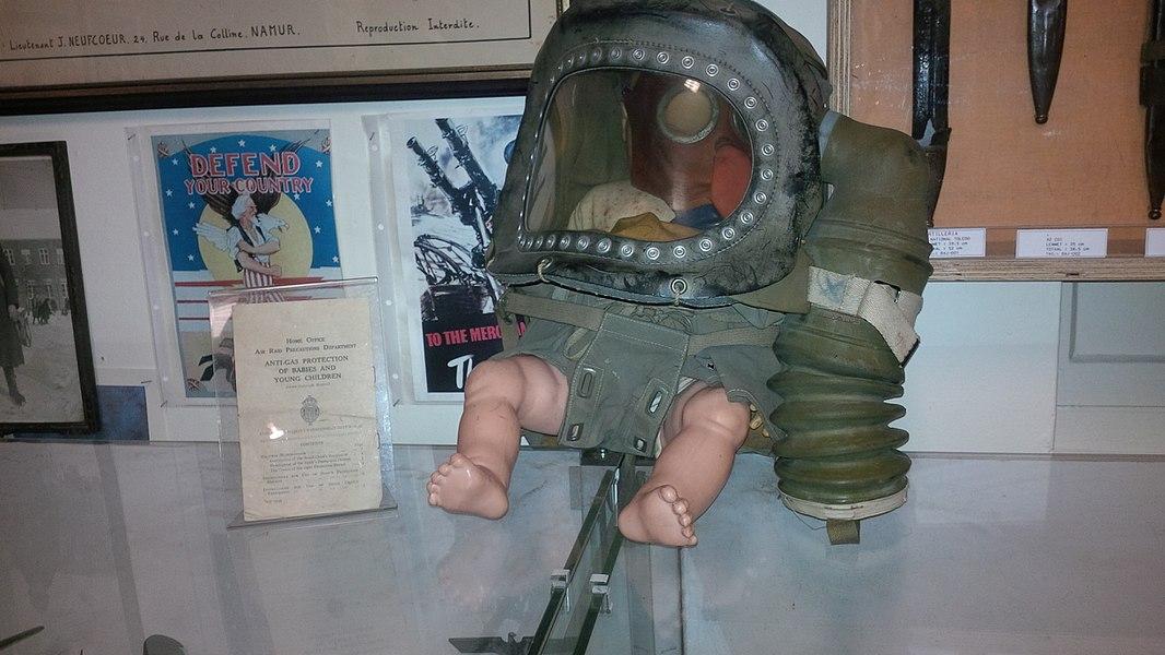 Een babygasmasker