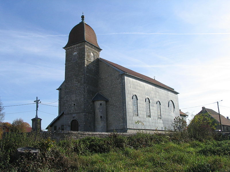 Foucherans' church (Doubs/France)