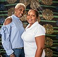 Eileen Mitchell and Stephanie Cooper Bynes at Staten Island Black Heritage Festival 07.jpg
