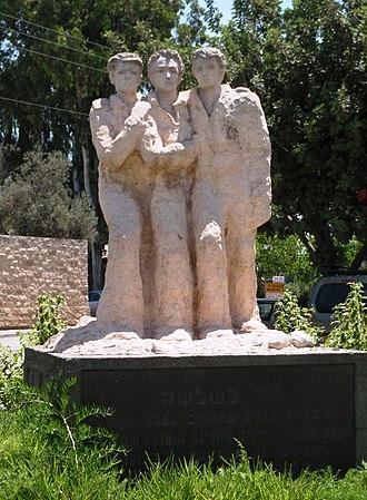 Einat - Yad Lashlosha memorial