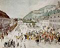 Einzug der Russen in Heidelberg 1815 von Friedrich Rottmann.jpg