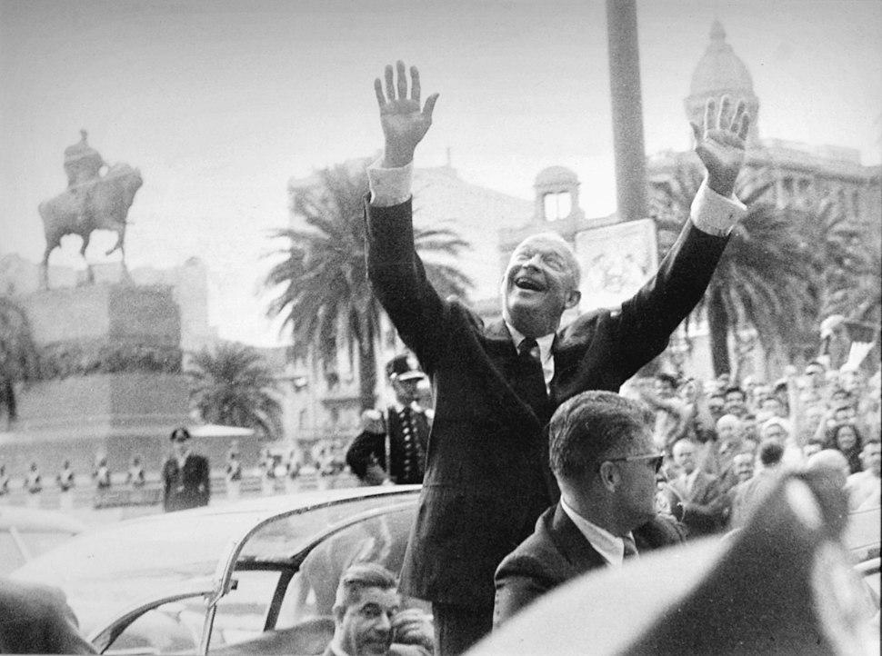 Eisenhower en Uruguay (5096971783)
