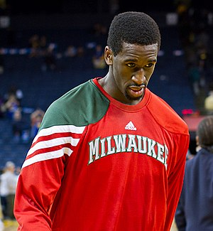 Ekpe Udoh - Udoh with the Bucks in 2012.