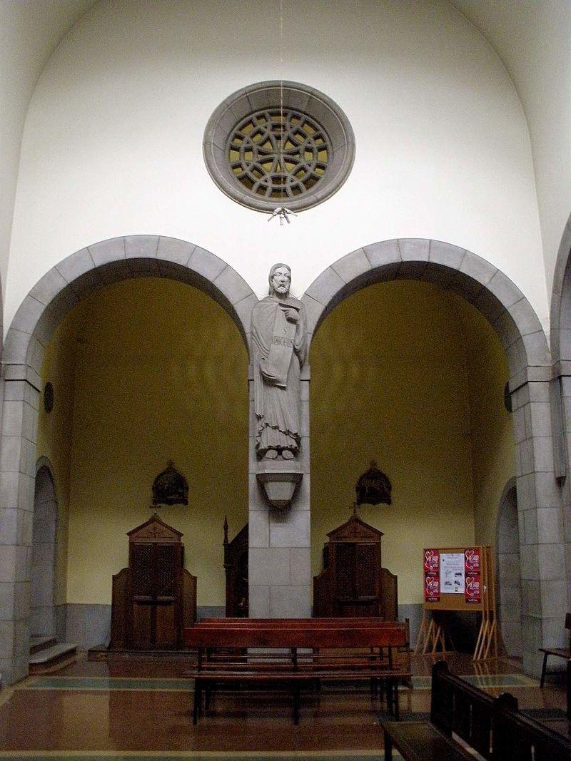 El Entrego (San Martín del Rey Aurelio) - Iglesia de San Andres 12.jpg