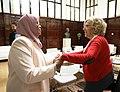 El desarrollo sostenible centra el encuentro entre la alcaldesa y la directora ejecutiva de ONU-Hábitat 02.jpg
