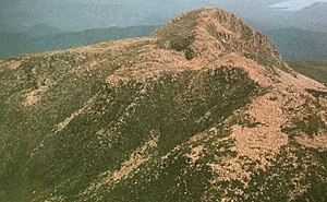 Eldon Range - Image: Eldon Peak from air, from north