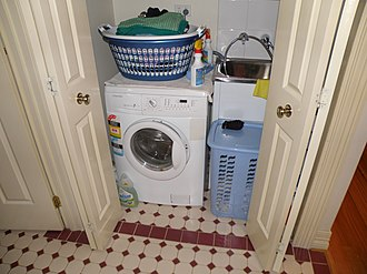 Combo washer dryer - Combo washer dryers typically use a front-loading configuration