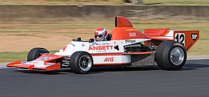 Australian Formula 1 - 5 litre Elfin MR8 Chevrolet AF1 car