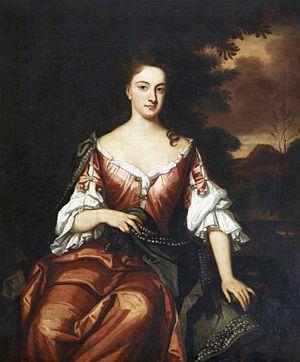 Charles Robartes, 2nd Earl of Radnor - Charles Robartes married Elizabeth Cutler in 1689.
