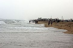 Elliots Beach at Besant Nagar, Chennai.JPG