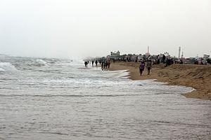 Besant Nagar - Elliots Beach at Besant Nagar, Chennai