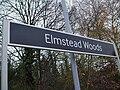 Elmstead Woods stn signage.JPG