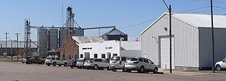 Elsie, Nebraska - Downtown Elsie. 2012