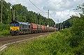 Elten Rheincargo DE 675 Class 66 met Roemeense Falns (14486721394).jpg