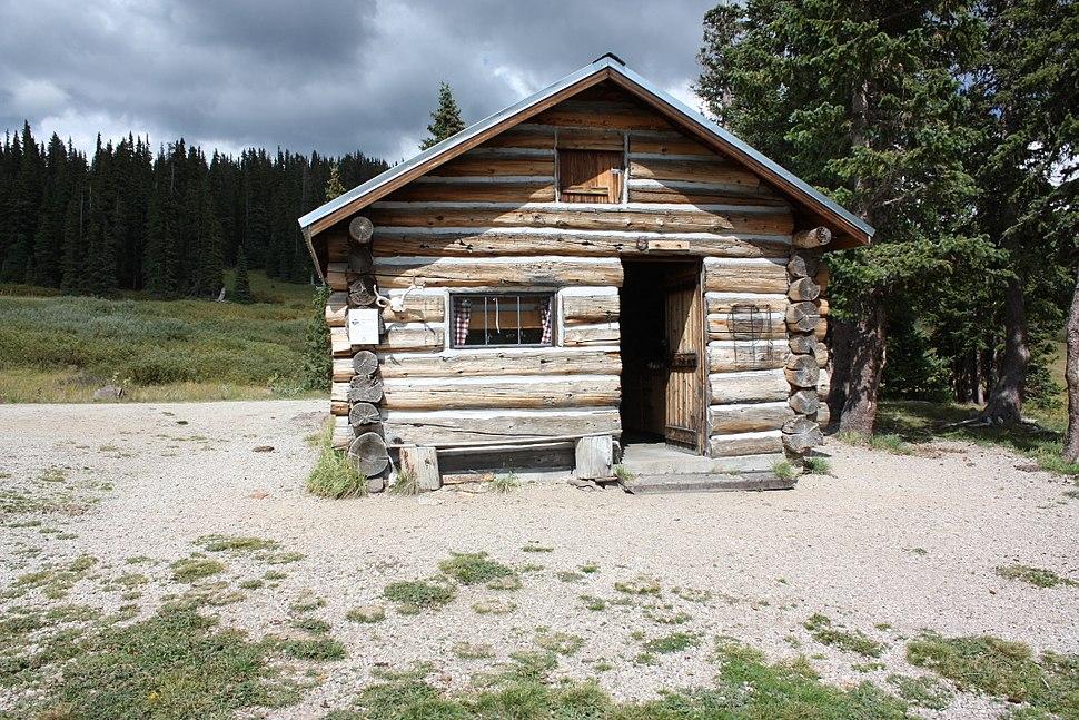 Elwood Cabin Rio Grande Forest Colorado September 2013