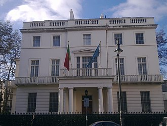 Embassy of Portugal, London - Image: Embassy of Portugal in London 1