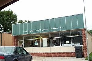 Emerado, North Dakota - The post office in Emerado