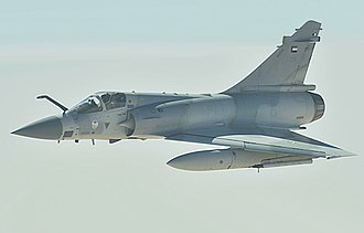 United Arab Emirates Air Force - A United Arab Emirates Mirage 2000 in flight