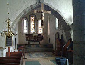 Endre Church - Image: Endre kyrka Gotland interioer 1