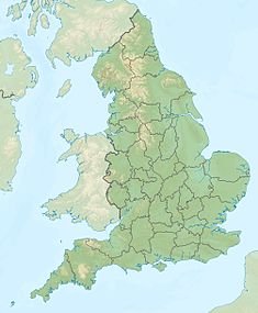 Race Bank wind farm is located in England