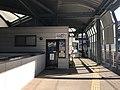 Entrance of Matsuura Railway on platform of Sasebo Station 2.jpg
