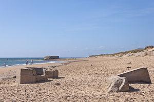 Erdeven - Kerouriec beach in Erdeven