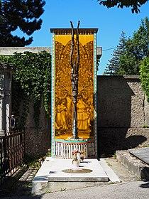 Ernst Fuchs grave, Vienna, 2017.jpg